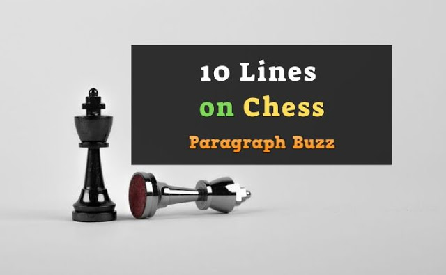 10 Lines on Chess in English
