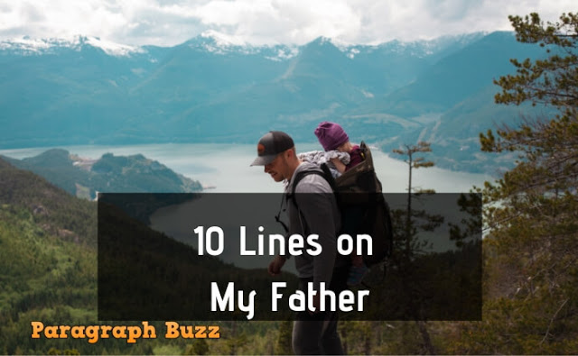 10 Lines on My Father
