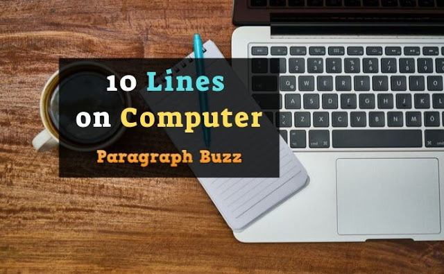 10 Lines on Computer