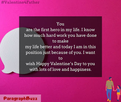 Happy Valentine's Day Wishes for Father