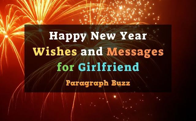 Happy New Year Wishes and Messages for Girlfriend