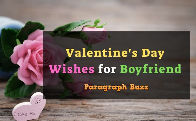 Valentine's Day wishes and messages for BF